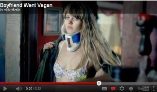 Eine Szene aus dem Peta-Video. (Foto)