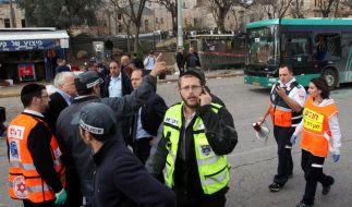 Eine Tote und Verletzte bei Anschlag in Jerusalem (Foto)