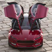 Das Evos Konzept ist das neue Gesicht der Marke Ford.