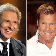 Einem Medienbericht zufolge steht Thomas Gottschalk (links) kurz vor einem Wechsel zu RTL. Dort soll er neben Dieter Bohlen als Juror in der Castingshow Das Supertalent sitzen.