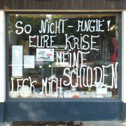 Einer Studie zufolge ist die Euro-Schuldenkrise der größte Angstmacher in Deutschland. Viele wollen die Schulden der Nachbarn nicht zahlen.