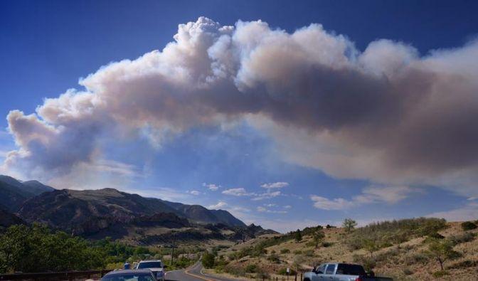 Einige Touristenattraktionen in Colorado wegen Bränden gesperrt (Foto)