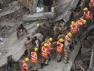Einstürzendes Haus erschlägt 66 Menschen in Neu Delhi (Foto)