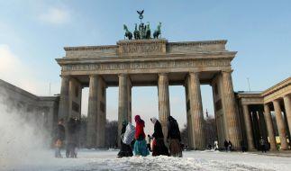 Eisigste Nacht des Winters in Deutschland (Foto)