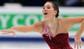 Eiskunstlauf-Meisterin Hecken verletzt (Foto)