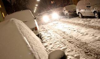 Eisregen und Blitzeis legen Verkehr lahm (Foto)