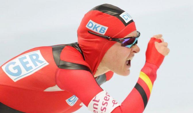 Eisschnellläuferin Beckert in Hamar auf Platz zwei (Foto)