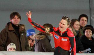 Eisschnelllauf: Siege für Wolf und Angermüller (Foto)