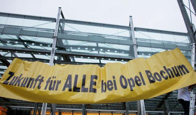 Eklat bei Opel-Betriebsversammlung in Bochum (Foto)