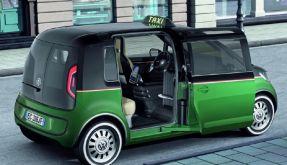 Elektro-Taxi (Foto)