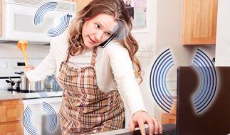 Elektrosmog im Haushalt (Foto)
