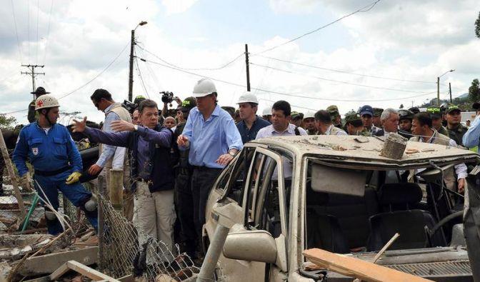 Elf Tote bei Pipeline-Explosion in Kolumbien (Foto)