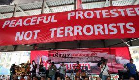 Elf Verletzte bei Granatenangriff in Bangkok (Foto)