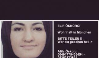 Elif Ö. (16) hat in Syrien einen ISIS-Kämpfer geheiratet. (Foto)