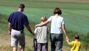 Eltern wünschen sich mehr Zeit für die Familie (Foto)