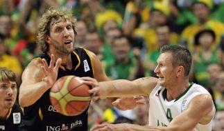 EM-Aus: Deutsche Basketballer verpassen Olympia (Foto)