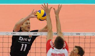 EM-Fehlstart für deutsche Volleyballer (Foto)