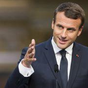 Emmanuel Macron ist der Jüngste französische Präsident aller Zeiten. (Foto)