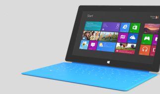 Ende Oktober wird das Surface mit Windows RT auch in Deutschland ausgeliefert. Ein Termin für die Windows-8-Version steht noch nicht. (Foto)
