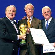 DFBfordert in WM-Affäre Millionenzahlung von Vizepräsident Fedor Radmann (Foto)
