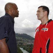 Endlich ein Gegner von Format: Tony Thompson ist den Klitschkos zumindest physisch nicht unterlegen.