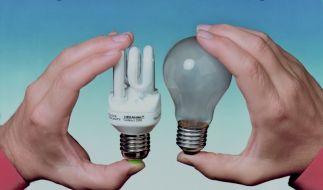 Energiesparlampe (Foto)