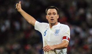 England womöglich ohne Chelsea-Kapitän Terry zur EM (Foto)