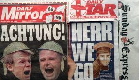 Englisch-deutsche Feindschaft (Foto)