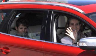 Enkel des spanischen Königs aus Krankenhaus entlassen (Foto)