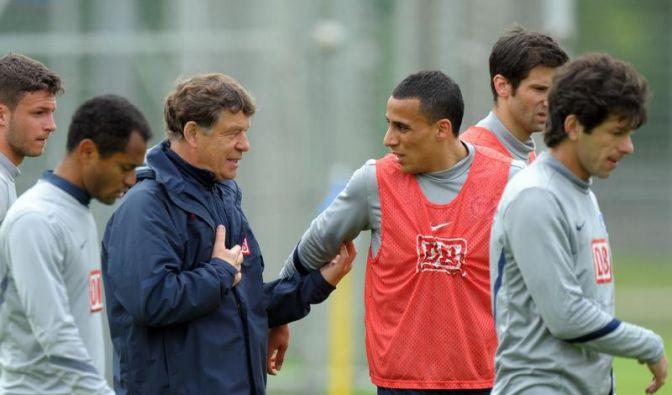 Entspannte Konzentration bei Hertha vor Relegation (Foto)