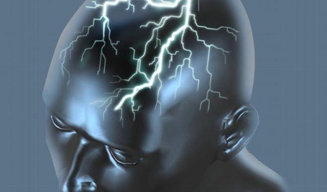 Epileptische Anfälle fühlen sich im Gehirn wie heftige Unwetter an: Nervenzellen entladen sich unbewusst und ungezielt. (Foto)