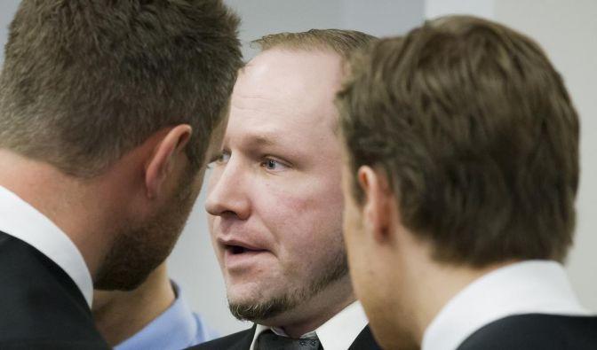 Er habe genauso gelitten wie die Angehörigen der Opfer, sagte Breivik vor Gericht. (Foto)