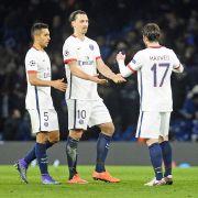 Er schoss Paris St. Germaint zum Sieg: Zlatan Ibrahimovic.