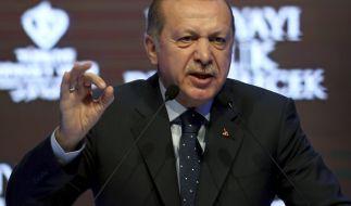 Erdogan schießt jetzt gezielt gegen Merkel. (Foto)