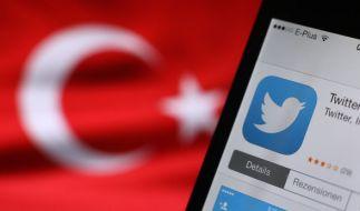 Erdogan-Unterstützer haben offenbar zahlreiche Twitter-Accounts gehackt, darunter auch Konten von Promis. (Foto)