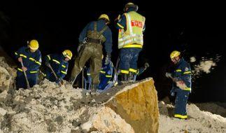 Erdrutsch auf Rügen: Zehnjährige vermisst (Foto)