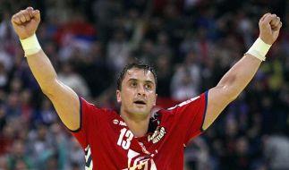 Erfolge der Handballer lassen Serben träumen (Foto)