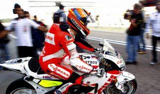Erfolgreiches Training: Bradl testet MotoGP-Honda (Foto)