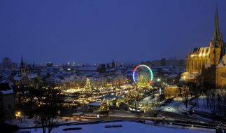 Erfurter Weihnachtsmarkt (Foto)