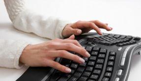 Ergonomische Tastatur (Foto)