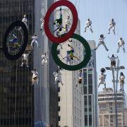 Erhebliche Bedenken vor den Olympischen Spielen in Rio. (Foto)