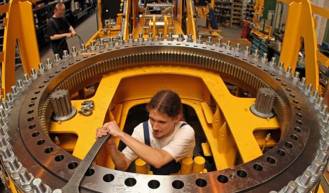 Erholung im Maschinenbau (Foto)