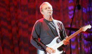 Eric Clapton versteigert Gitarren (Foto)