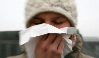 Erkältungssaison (Foto)