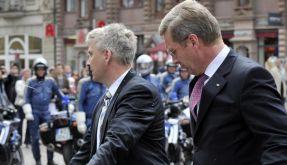 Ermittlungen nach Eierwurf auf Bundespräsidenten (Foto)