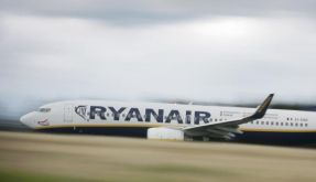 Erneut Zwischenfall bei Ryanair-Flug in Spanien (Foto)