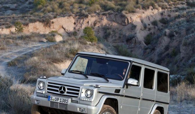 Erneutes Facelift für die Mercedes G-Klasse (Foto)