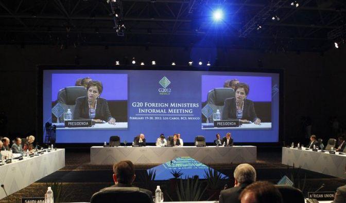 Erste Konferenz der G20-Außenminister eröffnet (Foto)