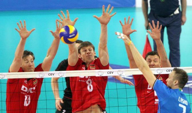Erster Dämpfer für deutsche Volleyballer (Foto)