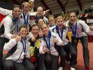 Erster EM-Titel für deutsche Badminton-Frauen (Foto)